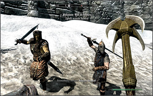 Before leaving this area, be sure to check the treasure chest - Siege on the Dragon Cult | Side quests - Side quests - The Elder Scrolls V: Skyrim Game Guide