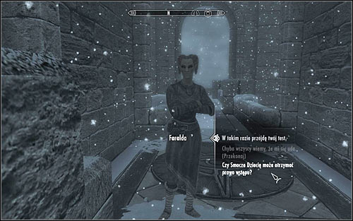 There are also two other methods of gaining access to the College - First Lessons | Side quests - Side quests - The Elder Scrolls V: Skyrim Game Guide