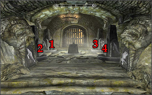 Destroying both traps will let you access the room with another puzzle - Under Saarthal - p. 3 | Side quests - Side quests - The Elder Scrolls V: Skyrim Game Guide