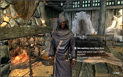 As the mage appears at the circle, ask him to conduct the ritual - Rising at Dawn | Side quests - Side quests - The Elder Scrolls V: Skyrim Game Guide