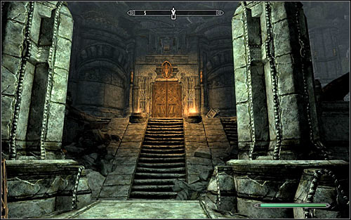 The less obvious solutions are breaking into the excavation by using lockpicks or stealing the mentioned key from Calcelmo - The Lost Expedition | Side quests - Side quests - The Elder Scrolls V: Skyrim Game Guide
