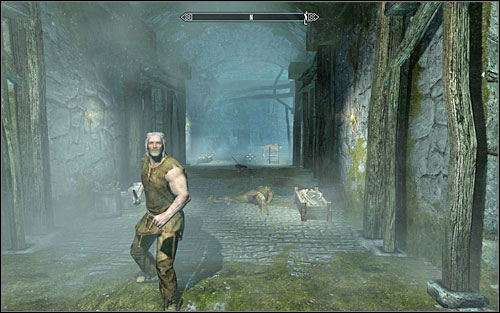 After getting Thorald out, lead him to a safe area (if you have killed everyone, the keep will turn out to be such a place) - Missing in Action | Side quests - Side quests - The Elder Scrolls V: Skyrim Game Guide