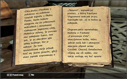 If none of these methods satisfies you, you can always head to Folgunthur (south-east of Solitude, in the marshes) and there, by the body of a man, find the useful notes - Forbidden Legend - p. 1 | Side quests - Side quests - The Elder Scrolls V: Skyrim Game Guide
