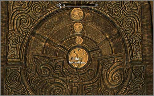 After putting all of them to rest, you will need to solve the puzzle by the door - Forbidden Legend - p. 1 | Side quests - Side quests - The Elder Scrolls V: Skyrim Game Guide