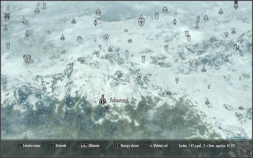Open the world map and head to Volunruud, located in the middle part of Skyrim (screen above) - Silenced Tongues | Side quests - Side quests - The Elder Scrolls V: Skyrim Game Guide