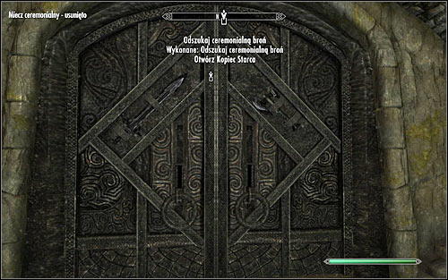 Return to the main room for the last time and head north once again, towards the locked door which began this quest - Silenced Tongues | Side quests - Side quests - The Elder Scrolls V: Skyrim Game Guide
