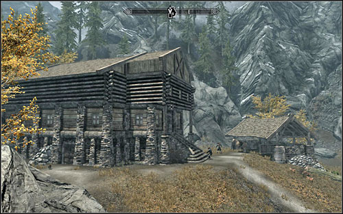 The documents youre looking for can be found at the basement of the house - enter through the door to be closest to the destination point - Promises to Keep | Side quests - Side quests - The Elder Scrolls V: Skyrim Game Guide