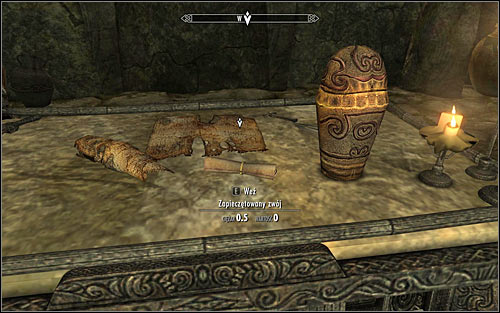 Use any set of stairs to reach the eastern room - A Scroll For Anska | Side quests - Side quests - The Elder Scrolls V: Skyrim Game Guide