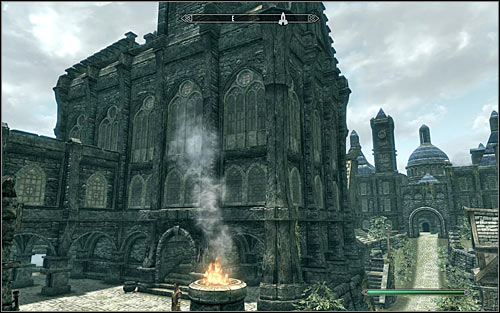 You can learn of the college from any bard met throughout Skyrim, for example from Lisette in The Winking Skeever in Solitude - Tending the Flames - p. 1 | The Bards College quests - The Bards College quests - The Elder Scrolls V: Skyrim Game Guide