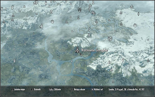 Head out of the College, open the world map and find Dead Mens Respite (screen above) - Tending the Flames - p. 1 | The Bards College quests - The Bards College quests - The Elder Scrolls V: Skyrim Game Guide