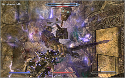 Begin attacking the Draugr Scourge who will appear in front of you - Miscellaneous: Find Rjorns Drum | The Bards College quests - The Bards College quests - The Elder Scrolls V: Skyrim Game Guide