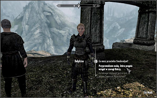 The game wont add any markers, as only people who you choose yourself will be able to join the Blades - (The Blades) Bring a Follower to Delphine | The Blades and the Greybeards quests - The Blades and the Greybeards quests - The Elder Scrolls V: Skyrim Game Guide