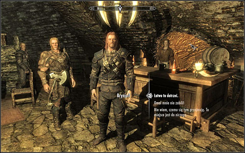 After going round the water container, you will reach Brynjolf and his company - Taking Care of Business - Thieves Guild quests - The Elder Scrolls V: Skyrim Game Guide