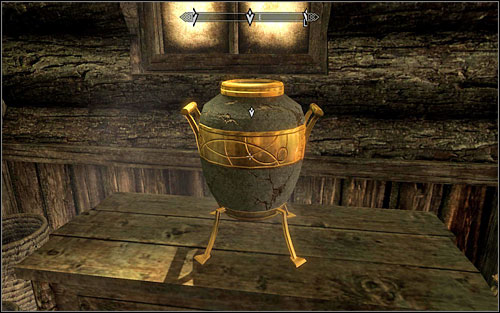 You just need to break the artifact with a strong enough blow (press and hold the mouse button) - Taking Care of Business - Thieves Guild quests - The Elder Scrolls V: Skyrim Game Guide