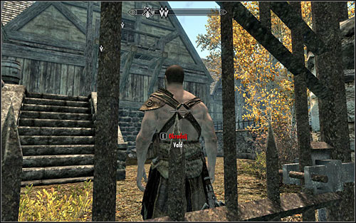 If you dont want to help the guard, you try to trick him - The Pursuit - Thieves Guild quests - The Elder Scrolls V: Skyrim Game Guide