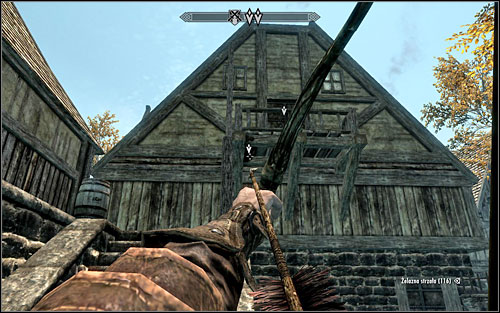 Whats interesting, you dont need to worry about Vald at all - you just have to shoot an arrow at the mechanism on the upper floor or the residence to create a quite comfortable passage inside (screen above) - The Pursuit - Thieves Guild quests - The Elder Scrolls V: Skyrim Game Guide