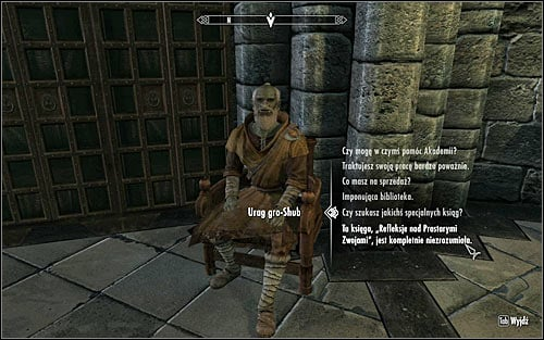 Speak to Urag gro-Shub again to ask him about the Ruminations on the Elder Scrolls written by Septimus Signus (screen above), stating that its author must have lost his mind and that its content is completely inexplicable - Discerning the Transmundane - p. 1 - Daedric quests - The Elder Scrolls V: Skyrim - Game Guide and Walkthrough