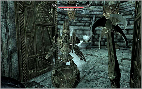Regardless of whether you explored the northern room or not, you will need to open the gate in the west and continue exploring the ruins - Discerning the Transmundane - p. 1 - Daedric quests - The Elder Scrolls V: Skyrim - Game Guide and Walkthrough