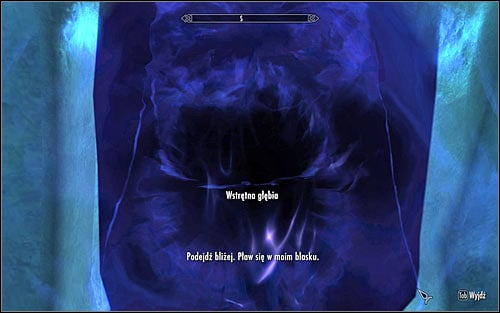As you try to leave Septimus Signuss Outpost, you will be stopped by a Wretched Abyss (screen above) and will have to speak to her - Discerning the Transmundane - p. 3 - Daedric quests - The Elder Scrolls V: Skyrim Game Guide