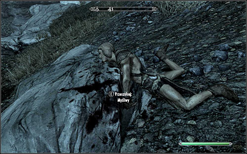 Wood Elves (screen above) can be met in most camps and caves inhabited by hunters - Discerning the Transmundane - p. 3 - Daedric quests - The Elder Scrolls V: Skyrim Game Guide