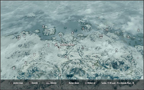 If you dont want to waste time on searching for a member of this race, you can head to Hobs Fall Cave (screen above), located west of Winterhold - Discerning the Transmundane - p. 3 - Daedric quests - The Elder Scrolls V: Skyrim Game Guide