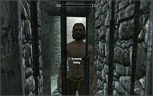 The second way doesnt imply speaking to Mathies at all and heading to talk with Sinding, the man accused of the brutal murder (screen above) - Ill Met By Moonlight - p. 1 - Daedric quests - The Elder Scrolls V: Skyrim Game Guide