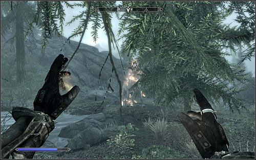 After locating the target it will turn out that youre not meant to fight any sort of monster, but kill the White Stag - Ill Met By Moonlight - p. 1 - Daedric quests - The Elder Scrolls V: Skyrim Game Guide