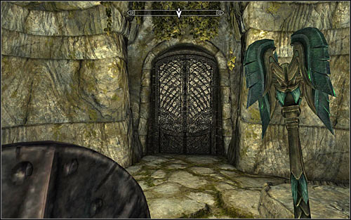 Head to the southern room following any of the corridors leading there - The Taste of Death - p. 2 - Daedric quests - The Elder Scrolls V: Skyrim Game Guide