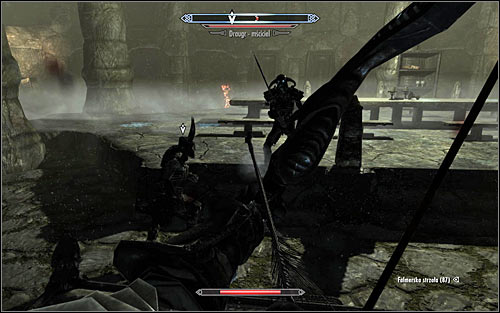 You must be very careful about Eola if she takes part in this battle and dont let the monster surround her, as she would be easily killed by their powerful attacks - The Taste of Death - p. 2 - Daedric quests - The Elder Scrolls V: Skyrim Game Guide