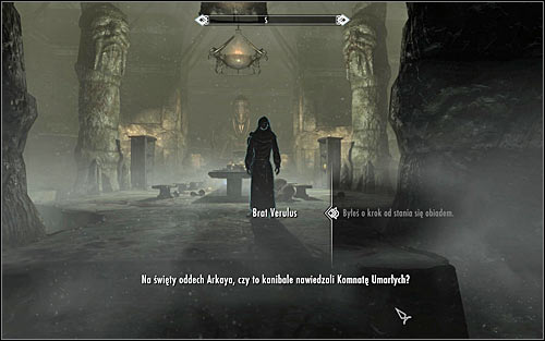 After the fight a conversation with Verulus should automatically start (screen above) - The Taste of Death - p. 2 - Daedric quests - The Elder Scrolls V: Skyrim Game Guide