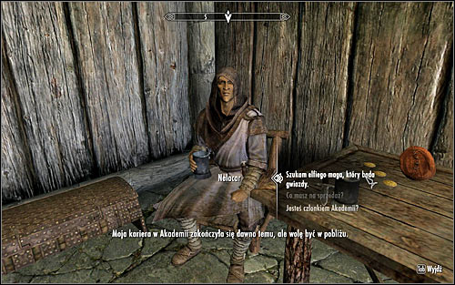 Regardless of the circumstances in which you learn of Nelacar, you will need to find him inside the Frozen Hearth Inn and talk with him (screen above) - The Black Star - p. 1 - Daedric quests - The Elder Scrolls V: Skyrim Game Guide