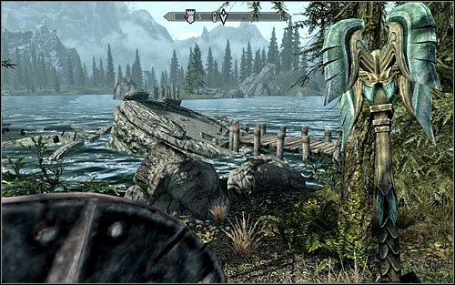 Sooner or later you will reach the ruins of the keep - The Black Star - p. 1 - Daedric quests - The Elder Scrolls V: Skyrim Game Guide