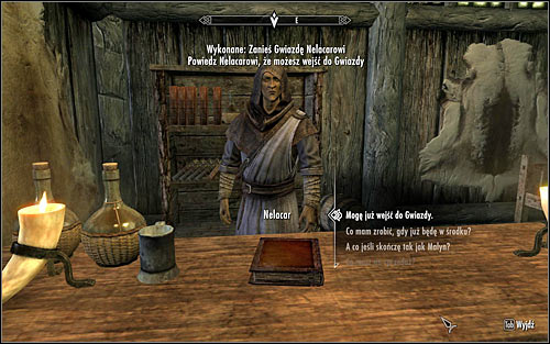 Let the mage take a look at the artifact and soon afterwards it will turn out that the only way of making the Star work again is defeating Malyn Varen, who has placed his soul inside it - The Black Star - p. 2 - Daedric quests - The Elder Scrolls V: Skyrim Game Guide