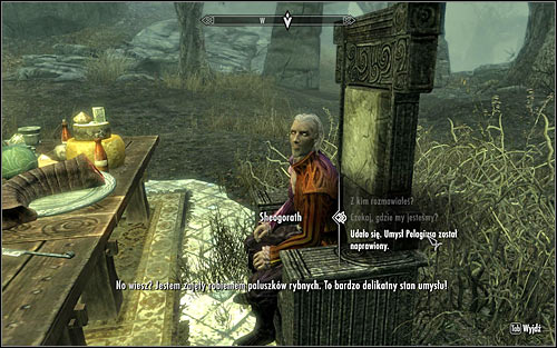 Return to the middle area for the last time and speak to Sheogorath to inform him of fixing Pelagiuss mind (screen above) - The Mind of Madness - p. 2 - Daedric quests - The Elder Scrolls V: Skyrim Game Guide