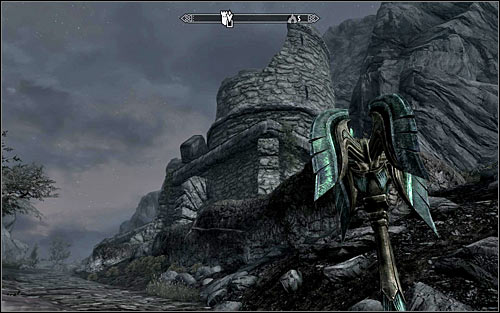 Head out of the Abandoned House and open the world map - The House of Horrors - Daedric quests - The Elder Scrolls V: Skyrim Game Guide