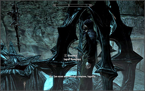 After reaching the alter Logrolf will be automatically imprisoned in the cage - The House of Horrors - Daedric quests - The Elder Scrolls V: Skyrim - Game Guide and Walkthrough