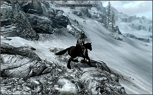 If your character is developed enough, you can head to the mountain area around Dawnstar and Winterhold, as beside standard wolves and bears theres also a chance of coming across a Troll there (screen above) - The Cursed Tribe - p. 1 - Daedric quests - The Elder Scrolls V: Skyrim Game Guide
