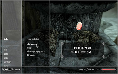 The Flawless Ruby is a rather rare item - The Only Cure - p. 1 - Daedric quests - The Elder Scrolls V: Skyrim Game Guide