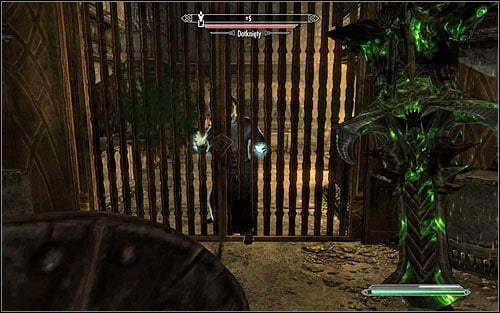 Be careful, so pretty much right after reaching the new location you will be attacked by a group of Afflicted and at least one of them will be a mage (screen above) - The Only Cure - p. 2 - Daedric quests - The Elder Scrolls V: Skyrim Game Guide