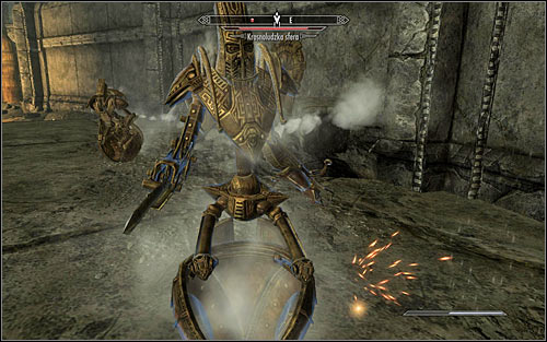You need to be careful, as soon you will be attacked by two Dwarven Spheres (screen above) - The Only Cure - p. 3 - Daedric quests - The Elder Scrolls V: Skyrim Game Guide