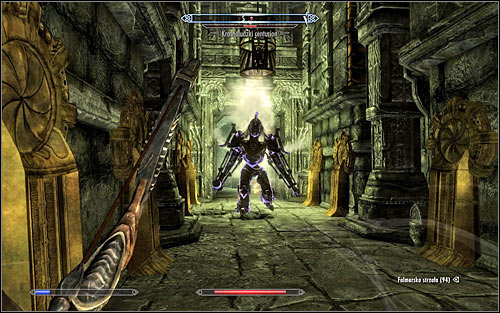 Choose the corridor going south and a Dwarven Centurion will cross your way - The Only Cure - p. 3 - Daedric quests - The Elder Scrolls V: Skyrim Game Guide