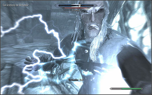 The factor which distinguishes this fight from others is the fact that Orchendor will regularly teleport throughout the area - The Only Cure - p. 3 - Daedric quests - The Elder Scrolls V: Skyrim Game Guide