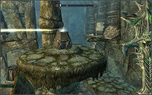 Look out, as at the place where the corridor turn west theres a trap activated by touching the line - The Break of Dawn - p. 2 - Daedric quests - The Elder Scrolls V: Skyrim Game Guide