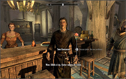 The drinking contest itself is very linear and limits only to confirming consecutive dialogue options - A Night to Remember - p. 1 - Daedric quests - The Elder Scrolls V: Skyrim Game Guide