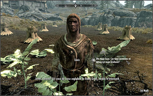 Regardless of the chosen option, dont forget to interact with the goat to make it follow you - A Night to Remember - p. 1 - Daedric quests - The Elder Scrolls V: Skyrim Game Guide