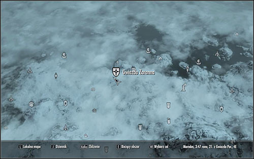 Open the world map and head to the city of Dawnstar, found in the northern part of Skyrim (screen above) - Waking Nightmare - p. 1 - Daedric quests - The Elder Scrolls V: Skyrim Game Guide