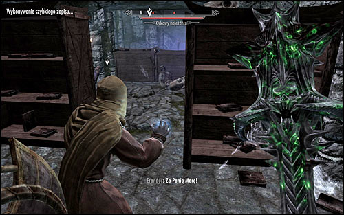 Continue onwards through the library, heading onto the lower level - Waking Nightmare - p. 1 - Daedric quests - The Elder Scrolls V: Skyrim Game Guide