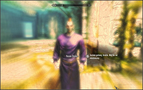 A rather untypical scene awaits you, it will take place during a dream and show the events before the gas which was supposed to stop the Orcs from obtaining the Skull of Corruption was released - Waking Nightmare - p. 2 - Daedric quests - The Elder Scrolls V: Skyrim Game Guide