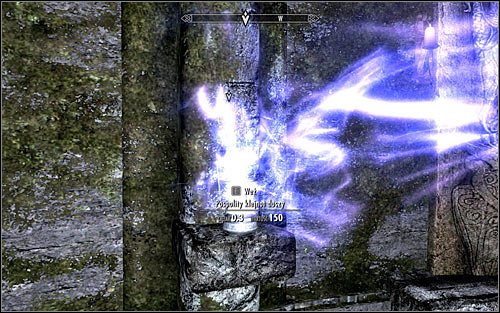 Stay where the dream has ended and take the Common Soul Gem marked by the game (screen above) to disable the magical barrier - Waking Nightmare - p. 2 - Daedric quests - The Elder Scrolls V: Skyrim Game Guide
