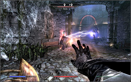 If you prefer ranged attacks, you should use on the fact that the enemies will at first be focused mainly on attacking Erandur (screen above) - Waking Nightmare - p. 2 - Daedric quests - The Elder Scrolls V: Skyrim Game Guide